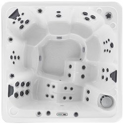 The Woodstock 7-Person Hot Tub 50 Jets